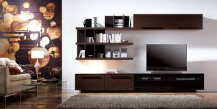 showcase designs for living room in unique modern wall indian