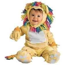 Newborn Costumes Halloween Fearless Lil U0027 Lion Rainbow Mane Newborn Costume Halloween Fancy