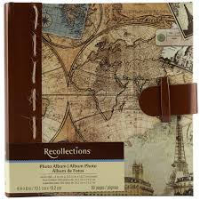 recollections travel photo album