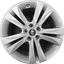 silver hyundai genesis coupe aly70788u hyundai genesis coupe wheel silver painted 529102m020