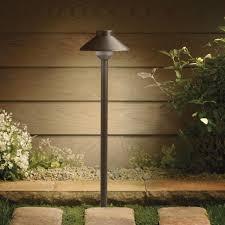 landscape path light kichler lighting azt aluminum led path light textured home