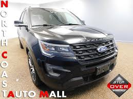 ford explorer 2017 2017 used ford explorer sport 4wd at north coast auto mall serving