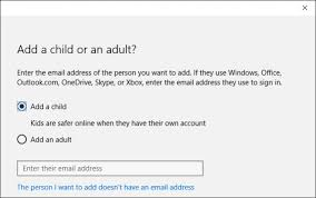 Good Account Pictures How To Add And Monitor A Child U0027s Account In Windows 10