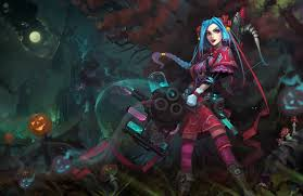 league of legends halloween skins possible future jinx skin