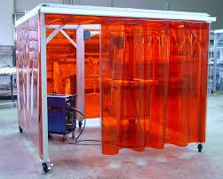 pvc door curtain door design sis weld enclosure doors tmi pvc fabrication