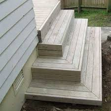 Back Stairs Design Emejing Deck Stairs Design Ideas Pictures Interior Design Ideas