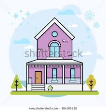 home exterior design maker cute house trees small urban house stock vector hd royalty free