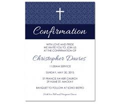 confirmation invites damask confirmation invitations