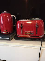 Toaster And Kettle Set Red Breville Red Kettle U0026 Toaster Set Only Bought At Christmas