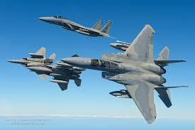 f 15 eagle receives fuel from kc 135 stratotanker wallpapers these air to air shots of the bayou militia u0027s f 15 eagles are