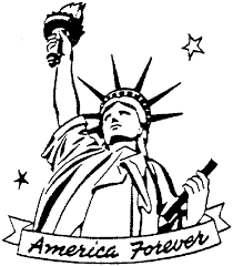 united states symbols coloring pages statue of liberty coloring page ngbasic com