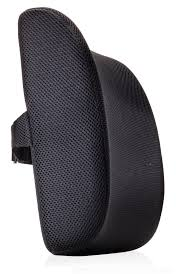Office Chair Back Support Cushion Premium Lumbar Support Back Pillow Cushion By Memorysoft Black