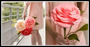 paper roses crepe paper roses diy home tutorials