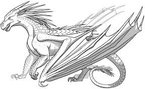 coloring pages of flames icewings wings of fire wiki fandom powered by wikia