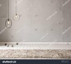 stone wall lamp modern interior decoration stock photo 392574928