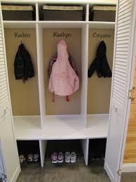 Diy Kids Storage Bench Diy Kids U0027 Cubbies Lockers For The Home Kid U0027s Room Pinterest