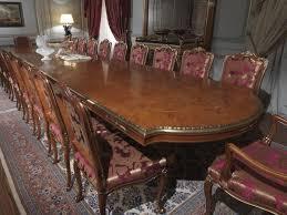 tavoli per sale da pranzo tavolo in radica piano intarsiato stile classico di lusso per