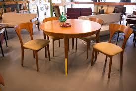 set of 4 fabulous niels koefoed danish teak dining chairs c 1960