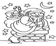christmas santa claus body 66 coloring pages printable
