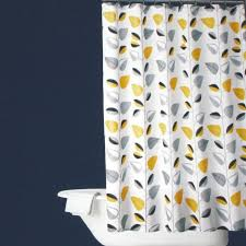 Yellow And Grey Curtain Panels Curtains Fresh Yellow And Gray Shower Curtain Innovative Ideas