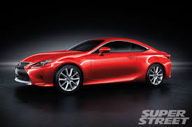 lexus frs coupe 2014 lexus rc coupe super street magazine