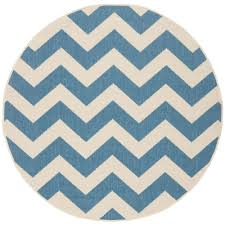 Round Rug 6 by Round Multi Colored Outdoor Rugs Rugs The Home Depot