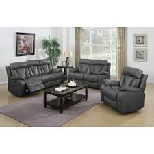 NathanielHome Benjamin  Piece Motion Sofa Set  Reviews Wayfair - What is a motion sofa