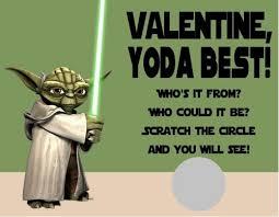 yoda valentines card wars yoda s day scratch cards custom