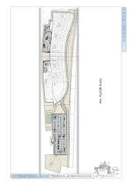 Ferry Terminal Floor Plan Thesis International Cruise Terminal In Goa