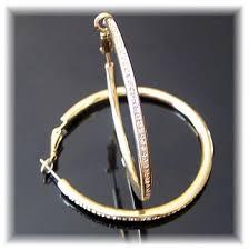hoop la earrings gold swarovski hoop la earrings hoops and hooks