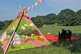 Backyard Teepee 25 Diy Hideouts Forts Tents Teepees And Playhouses