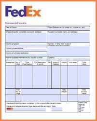 download fedex forms commercial invoice rabitah net