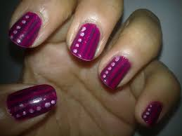 Nail Art Designs To Do At Home Nail Art Simple And Easy How You Can Do It At Home Pictures