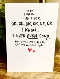 day cards for him valentines day cards for him be my lettered