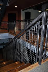 Banister Netting Furniture Architectural Railing Weldcraft Iron Works Washington