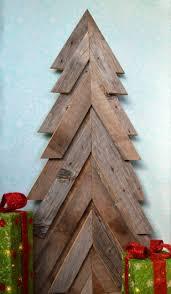weihnachtsdeko aus holz basteln ein ersatz für den tannenbaum