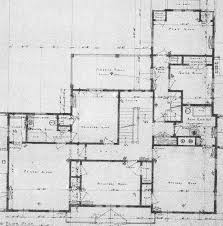 once upon a house downstairs upstairs detail from second floor plan for 920 cedar brook road the sleeping porch was never built image reprinted courtesy of the local history collection of the