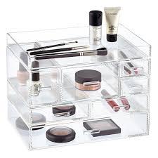 Acrylic Bathroom Storage Luxe Acrylic Modular Makeup Storage Acrylic Organizer Vertical
