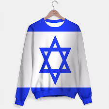 Flag Sweater Flag Of Israel Sweater Live Heroes