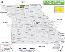 mercer map mercer county map missouri
