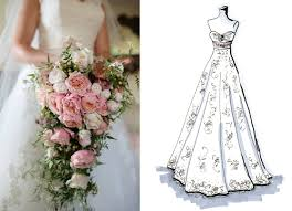 cascade bouquet bouquets for every wedding gown style glam gowns