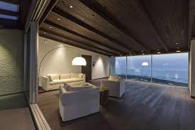 open floor plan penthouse interior design by aj architects
