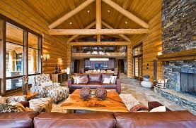 How To Decorate A Log Home Retreat Homeadore Part 16