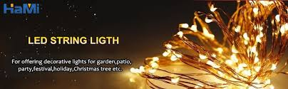Led Christmas Decoration Lights Products by Amazon Com Hami 33ft 100 Led Christmas Lights With Remote Control