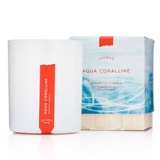 thymes candles thymes aqua coralline candle fragrance fresh scent