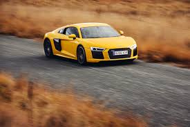 Audi R8 Yellow - photos audi r8 v10 yellow auto