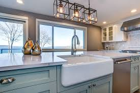 how to install farm sink in cabinet how to install a farmhouse sink in an existing counter mr