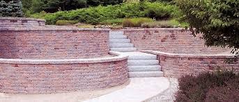 installation of retaining walls retaining wall block