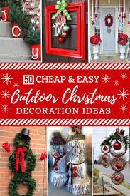 20 impossibly creative diy outdoor christmas decorations diy