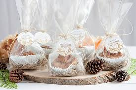 fall wedding favor ideas fall wedding favor caramel apple cookie cups weddings ideas